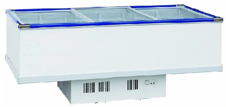 Electrical Commercial Display Fridges , Stainless Chest Freezer 1035L Capacity