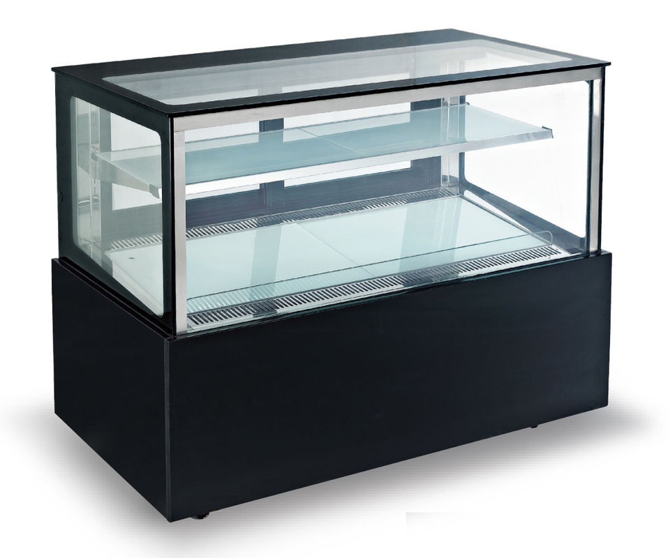 Automatic Defrost Refrigerated Cake Display Cabinets 400L Capacity,1500mm Length and One-layer Shelf