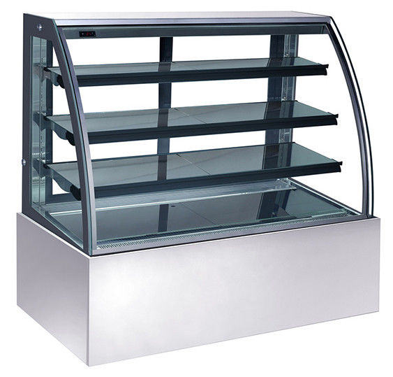 1200mm Three Layers Cake Display Chiller , 400L Cake Display Showcase