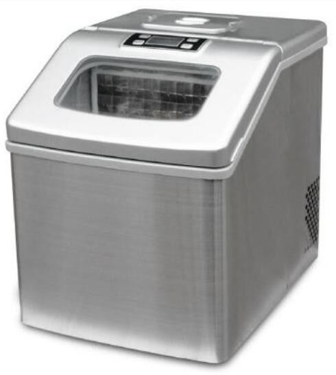 18Kg Stainless Steel Low Power Mini Automatic Ice Maker Machine , Potable Commercial Countertop Ice Maker