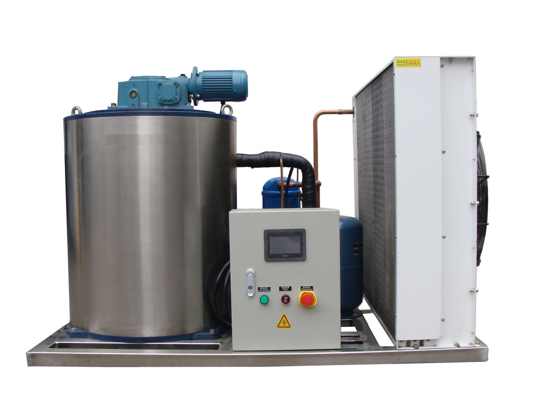 3000kg/24h  Automatic  Ice Maker Machine With Anti - Swing Design Of Water Diversion Device And Return Tank