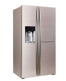 Κίνα 598L Side By Side Refrigerator Freezer Super Freezing CE Approval With Ice Maker And Home Bar εργοστάσιο